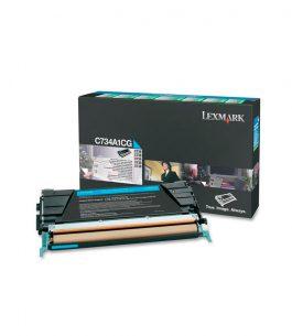Tóner Lexmark Cian C734A1CG