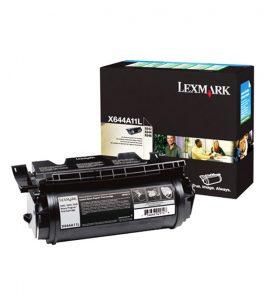 Tóner Lexmark Negro X644A11L