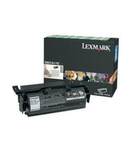 Tóner Lexmark Negro X651A11L