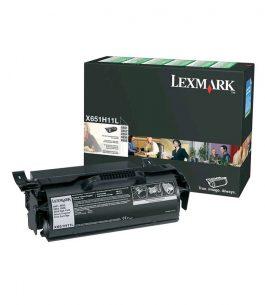 Tóner Lexmark Negro X651H11L