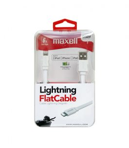 Cable Lightning Flat Maxell