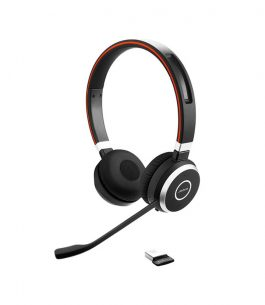 Headset Wireless Jabra Evolve 65 Dúo