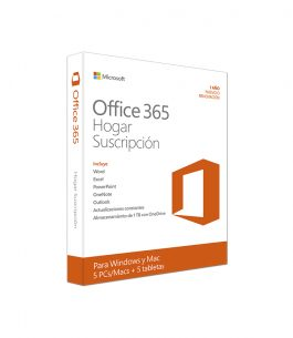 Office 365 Home – Suscripción Anual – 6 Usuarios