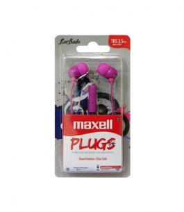 Auricular Maxell Plugs con Micrófono