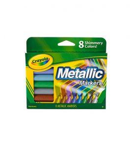 Marcadores 8 Colores Metálicos Crayola