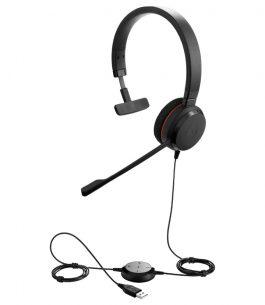 Headset Jabra Evolve 20 UC Mono USB