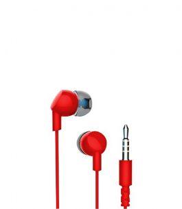 Auricular con Micrófono Havit HV-E86P – Rojo