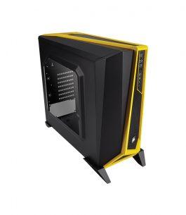 Gabinete Gaming Corsair SPEC-ALPHA Negro/Amarillo