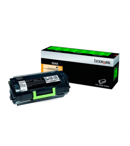 Tóner Lexmark Negro 52D4X00