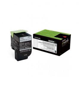 Tóner Lexmark Negro 80C8SK0