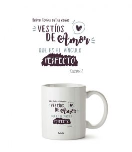 Taza Blanca The Truth Col T001