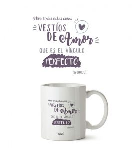 Taza Blanca The Truth Col T002