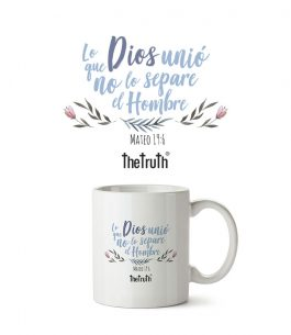 Taza Blanca The Truth MT T001