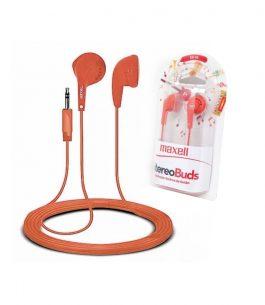 Auricular Maxell EB-95 Stereo – Naranja
