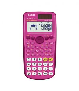 Calculadora Casio fx-300ES PLUS Rosada