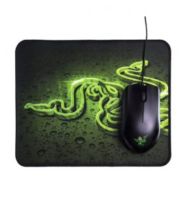 Mouse Gamer Razer Abyssus 2000 + Goliathus Control