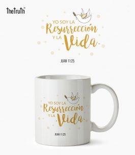 Taza Blanca The Truth JN T002