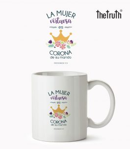Taza Blanca The Truth PB T001