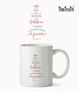 Taza Blanca The Truth PB T002