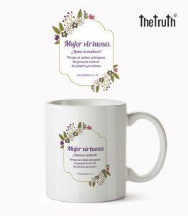 Taza Blanca The Truth PB T003