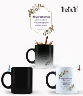 Taza Mágica The Truth PB T003