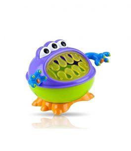 Contenedor de aperitivos Nuby 3-D Monster