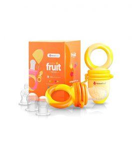 Chupete alimentador color naranja