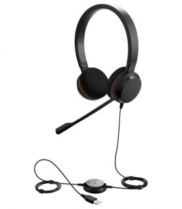 Headset Jabra Evolve 20 Dúo MS USB