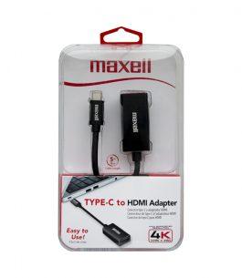 Adaptador Maxell USB tipo C a HDMI 347890