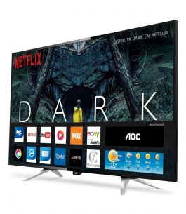 Smart TV 4K Ultra HD AOC de 50″ – LE50U7970