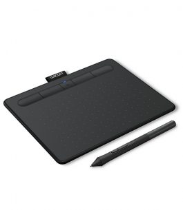 Tableta de Dibujo Wacom Intuos Small Black BT