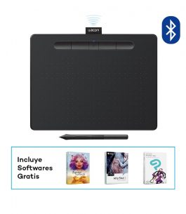 Tableta de Dibujo Wacom Intuos Medium Black BT