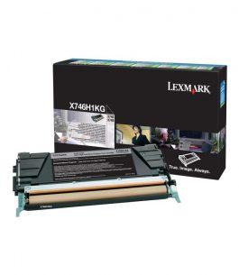 Tóner Lexmark Negro X746H1KG