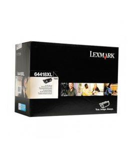 Tóner Lexmark Negro 64418XL