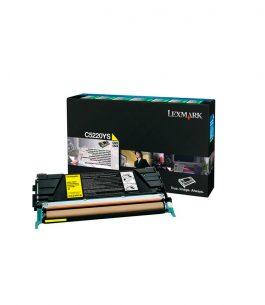 Tóner Lexmark Amarillo C5220YS