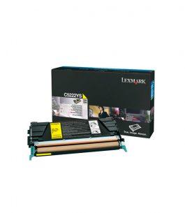 Tóner Lexmark Amarillo C5222YS