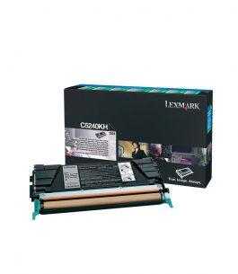 Tóner Lexmark Negro C5240KH