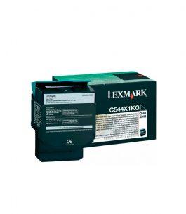 Tóner Lexmark Negro C544X1KG