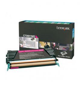 Tóner Lexmark Magenta C736H1MG