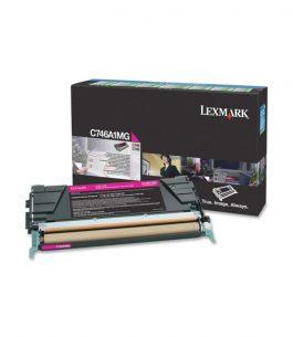 Tóner Lexmark Magenta C746A1MG