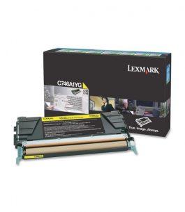Tóner Lexmark Amarillo C746A1YG