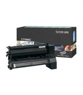 Tóner Lexmark Negro C7700KS