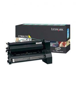 Tóner Lexmark Amarillo C780A1YG