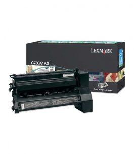 Tóner Lexmark Cian C780A1CG