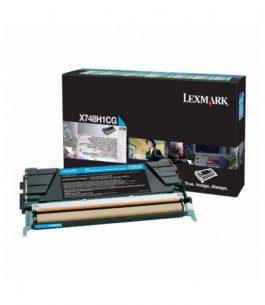 Tóner Lexmark Cian X748H1CG