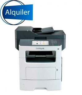 Multifunción Lexmark MX611dhe – Alquiler