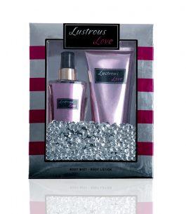 Kit Perfume + Loción Scenabella Lustrous Love