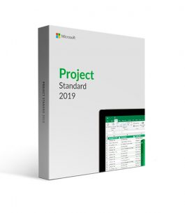 Microsoft Project Standard 2019 ESD