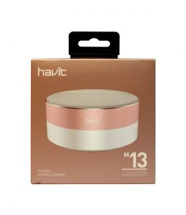 Parlante Havit Bluetooth HV-M13 Gris/Rosado