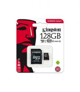 Memoria MicroSD 128GB Kingston